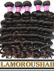 """3Pcs/Lot 8""""-34"""" Brazilian Virgin Remy Hair Natural Black Color Natur... – USD $ 79.20"""