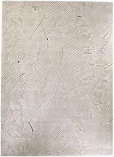 Palm Leaf by Michaela Schleypen — FRONT Rugs Yatak odası – home accessories Front Wall Tiles Design, Wall Design, Carpet Flooring, Rugs On Carpet, Shiplack Walls, Motifs Textiles, Modern Carpet, Carpet Design, Texture Design