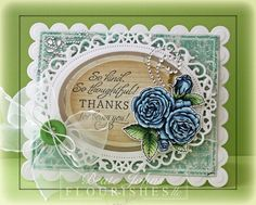Card created with @Spellbinders dies, one of my favorite @Flourishes,llc Jan Marie image, @Want2Scrap Company rhinestones and @MME inc paper. Click on image to find blog post with more details.