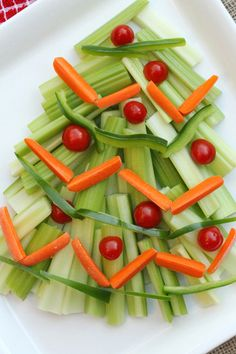Christmas Tree Relish Tray | Coupon Clipping Cook