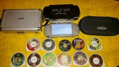 Sony PSP 2001 Mystic Silver Handheld System Bundle. Take A L@@K in Video Games & Consoles, Video Game Consoles | eBay