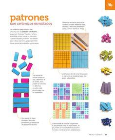 Nº 124 mayo 2013 mosaico Mosaic Art, Mosaic Glass, Mosaic Tiles, Stained Glass Supplies, Hexagon Backsplash, White Subway Tiles, Tile Crafts, Color Tile, Mosaic Patterns