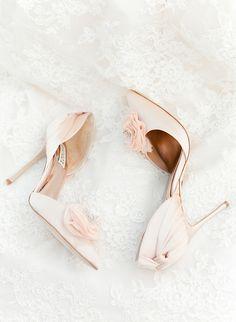Dreamy wedding shoes