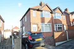 Extended semi-detached house with 3 bedrooms plus dressing room/study & bathroom with separate shower complimented by a spacious lounge, dining area with French doors, large kitchen with. Semi Detached, Detached House, Nottingham, French Doors, Dining Area