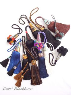 A selection of Tassels