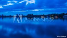 During blue hour Herastrau park appears dark and mystique. Clouds and lights of the restaurant along the lake are reflected by the water surface. Get 10 free images by registering 1 month free trial #adobestock #peacefulhunter #bucharest #capital #city #park #lake #easterneurope #evening #nightphotography #landscape Blue Hour, 1 Month, Night Photography, Eastern Europe, Capital City, Romania, Free Images, Northern Lights, Scenery