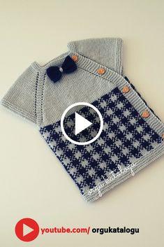 Baby Knitting Patterns, Baby Girl Vest, Baby Boys, How To Start Knitting, Easy Knitting, Diy Crafts Crochet, E Mc2, Vest Pattern, Baby Sweaters