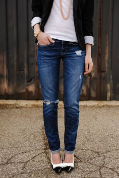 nice polished casual street style photo form sidewalkready fashion blog