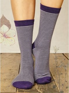 Like the stripe- possibly with a larger top band and in black with white stripe Bamboo Socks, Top Band, Striped Socks, Larger, Stripes, Black, Ideas, Fashion, Dahlias