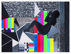 """Marla """"MDsuperC"""", 2015, Olio e acrilico su tela 150 x 200 cm, Foto di Mauro Ranzani.  Mostra WELOVESLEEP, Galleria Santa Radegonda, fermata Duomo della metropolitana di Milano, fino al 14 giugno 2015. INGRESSO GRATUITO #welovesleep"""