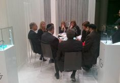 Samuel Friedmann Leading Gevril Group Meeting in Gevril Booth at Baselworld 2012