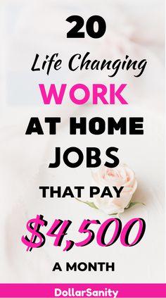 Make Easy Money, Make Money From Home, Earn Money Online, Online Jobs, Best Business To Start, Make Money From Pinterest, Jobs For Women, Find A Job, Work From Home Jobs