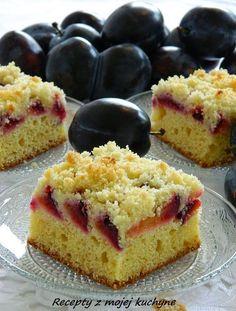 RECEPTY Z MOJEJ KUCHYNE A ZÁHRADY: Slivkový koláč s drobenkou