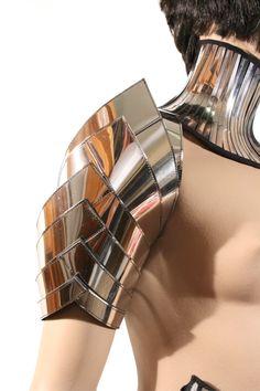 futuristic spartan shoulder armour custom made for men by divamp