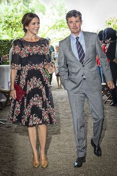 Princess Mary and Prince Frederic