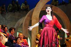 María José Montiel as Carmen at Teatro de la Zarzuela (Madrid) Mezzo Soprano, Madrid, Theater