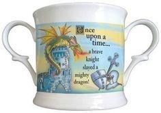 Storybook Prince Bone China Loving Cup. £12.99 #BoneChina #ChristeningGift #Christening #Cup #PersonalisedChristeningGift
