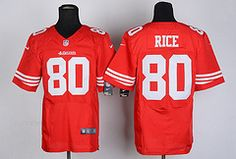 Free Shipping and Low price is 35$!!!Low price #80 San Francisco 49ers NFL Jerseys hot sale online.