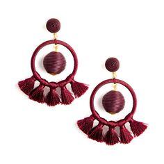 Berry Jam Dreamcatcher Earrings