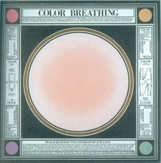 Paul Laffoley, Color Breathing, Silkscreen on Rag Paper Font Combos, The Doors Of Perception, Taupe Color, Graphic Design Posters, Grafik Design, Colour Images, Color Theory, Mauve, Print Design