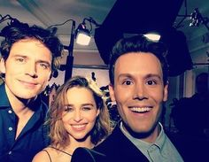 Whoa! Looks like our friend @matthewhoffman.tv got the inside scoop about all things #MeBeforeYou! Check out the exclusive deets with @emiliaclarke and @mrsamclaflin on our YouTube channel @OfficialRegalMovies.