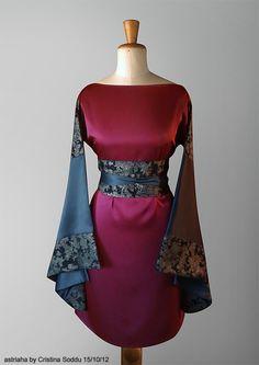 Custom #Kimori based on #kimono | Italian stylist #astriaha | Fabric #Hoffman California Fabrics