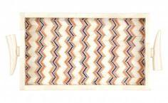 Zig Zag Bone Tray - Jayson Home - $94.99 - domino.com