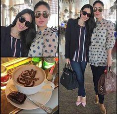Woah! The Stylish Kapoor Sisters - Kareena & Karisma Reach Dubai for TOIFA…