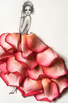 Flower Girl Instagram - Fashion Illustrators On Instagram