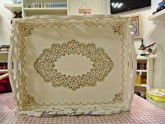 Country Paintings, Craft Corner, Rice Paper, Painting On Wood, Home Crafts, Decoupage, Stencils, Hand Painted, Crafty