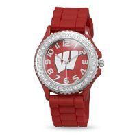 Collegiate Licensed University of Wisconsin Ladies' Fashion Watch