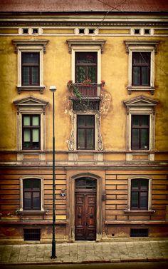 Ancient Building - Lodz, Poland