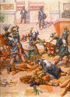Slaughter of the Aztecs