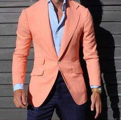 The Peach Jacket . All by Absolutebespoke