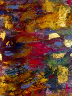 Acrylic Abstract, Jill Marie Greenhill-SOLD