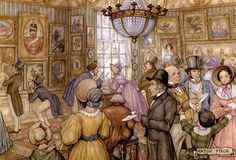 Anton Pieck was a Dutch painter and graphic artist. The work of Anton Pieck contains paintings in oil and watercolour, etchings. Pierre Auguste Cot, Anton Pieck, Museum Art Gallery, Dutch Painters, 3d Prints, Dutch Artists, Arabian Nights, Figure Painting, Art History