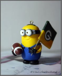 Green Bay Packers minion fan by danielahandmade on Etsy