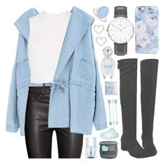 """""""[ Blue Dream ]"""" by demigeorgia ❤ liked on Polyvore featuring Isaac Mizrahi, Daniel Wellington, LoveBrightJewelry, Marc by Marc Jacobs, Nails Inc., Marc Jacobs, Bare Escentuals, Deborah Lippmann, Chicnova Fashion and H&M"""