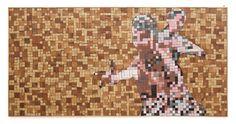 Indian Dancers - Wooden Mosaic - April 2015 by Sureel Kumar at SureelArt Wood Pieces, Teak Wood, Dancers, Mosaic, Indian, Artwork, Painting, Work Of Art, Dancer