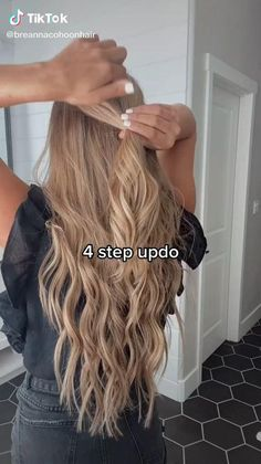 Medium Hair Hairstyles, Cute Hairstyles, Easy Hairstyles For Medium Hair, Summer Hairstyles, Medium Hair Cuts, Hair Tutorials For Medium Hair, Long Hair Cuts, Hair Braiding Styles, Long Hair Styles