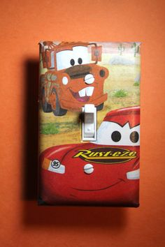 Cars Lightning McQueen and Mater Kids Light by ComicRecycled