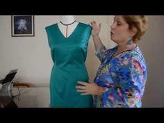 Conserto: como diminuir a medida de um vestido pronto - Aula 51 - YouTube