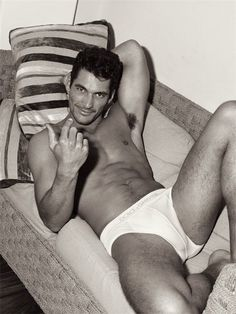 I'll be right there!    David Gandy, quite possibly the most gorgeous man i've ever seen...
