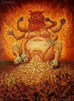 Johfra Bosschart surrealismo esotérico