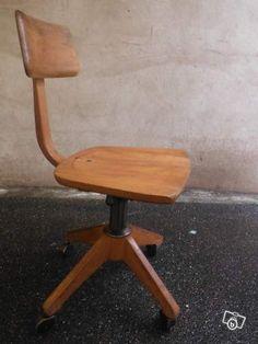 Chaise d'atelier vintage Sedus- Livraison gratuite Ameublement Bas-Rhin - leboncoin.fr
