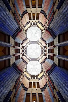 Peter Behrens, Dome Hall of Farbwerke Hoechst, Frankfurt, 1921-24.