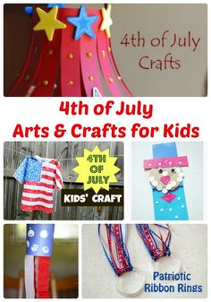 4th of July Arts and Crafts for Kids   The Jenny Evolution