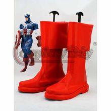 Os vingadores Cosplay botas Marvel capitão américa Red Cosplay Shoes Custom Made //Price: $US $49.00 & FREE Shipping //    #homemformiga #marvel