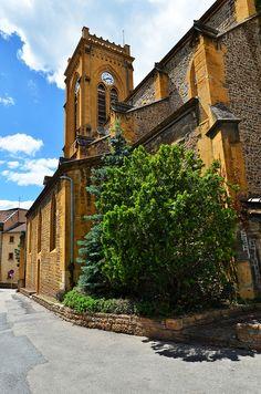Eglise de l'Arbresle - Rhône by Vaxjo, via Flickr