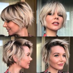 Layered Long Pixie Cut - 60 Gorgeous Long Pixie Hairstyles - The Trending Hairstyle Growing Out Short Hair Styles, Growing Out Hair, Short Hair Cuts, Growing Out Pixie Cut, Growing Out Undercut, Short Hair Long Bangs, Shot Hair Styles, Curly Hair Styles, Pixie Hairstyles
